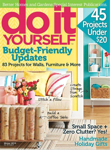 download do it yourself magazine winter 2013 pdf magazine. Black Bedroom Furniture Sets. Home Design Ideas