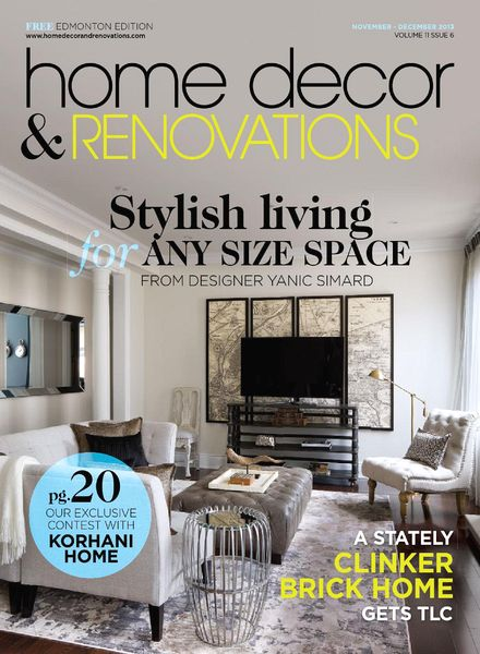 Download home decor and renovations edmonton november for Home decorating edmonton