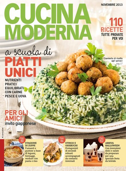 Download cucina moderna novembre 2013 pdf magazine - Cucina moderna magazine ...