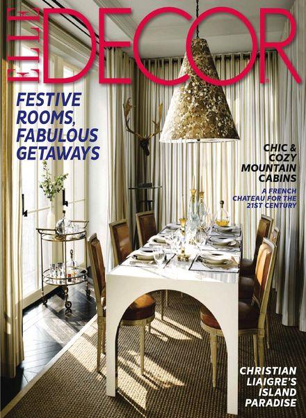 download elle decor usa december 2013 pdf magazine