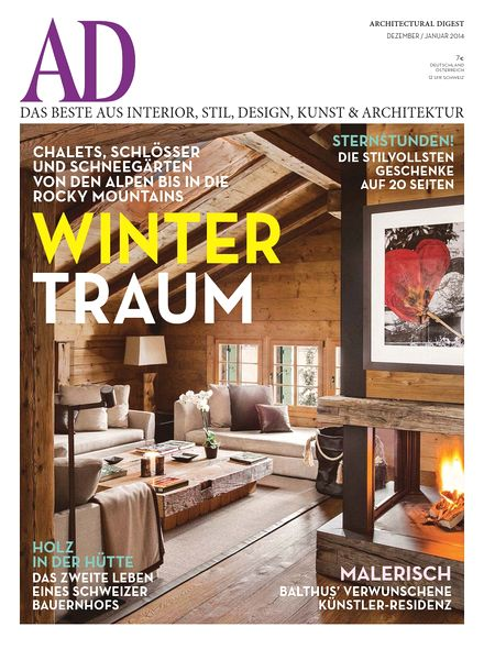 download ad architectural digest germany dezember 2013 januar 2014 pdf magazine. Black Bedroom Furniture Sets. Home Design Ideas