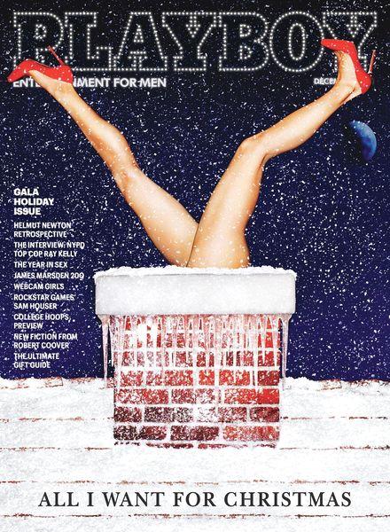 Журнал Playboy USA december 2013 смотреть онлайн