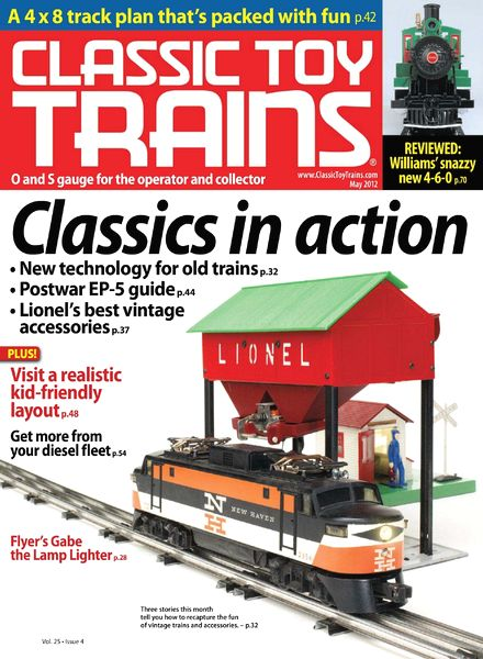 Classic Toy Trains 2013 – Lot of 9 Issues Volume 26