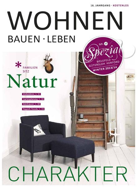 download wohnen bauen leben n 30 2013 pdf magazine. Black Bedroom Furniture Sets. Home Design Ideas