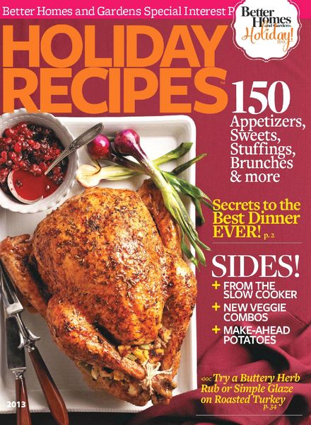 Download Better Homes Gardens Usa Holiday Recipes 2013