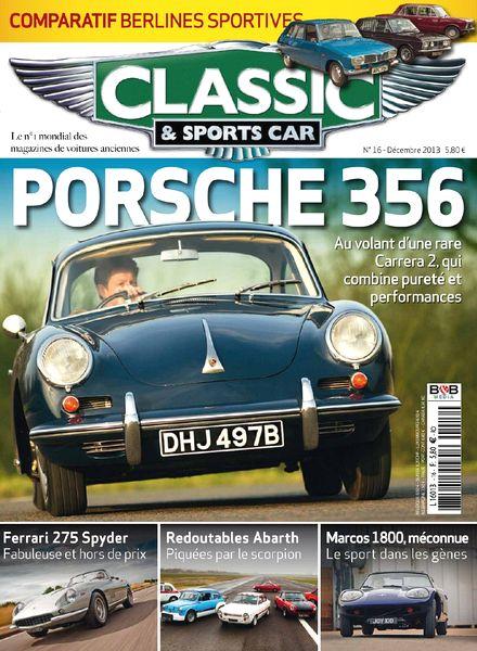 download classic sports car france n 16 decembre 2013 pdf magazine. Black Bedroom Furniture Sets. Home Design Ideas