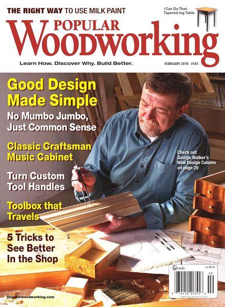 Popular Woodworking – 181, 2010