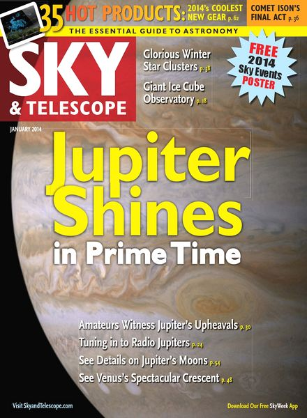 Sky & Telescope Magazine January 2014