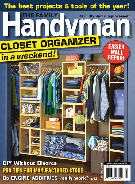 Download The Family Handyman February 2012 Pdf Magazine