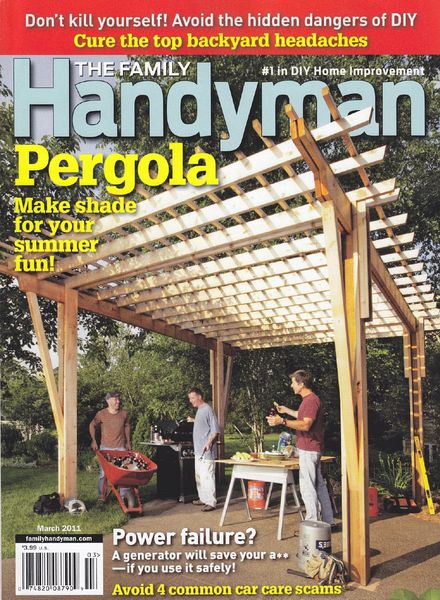 Download the family handyman march 2011 pdf magazine for The family handyman pdf