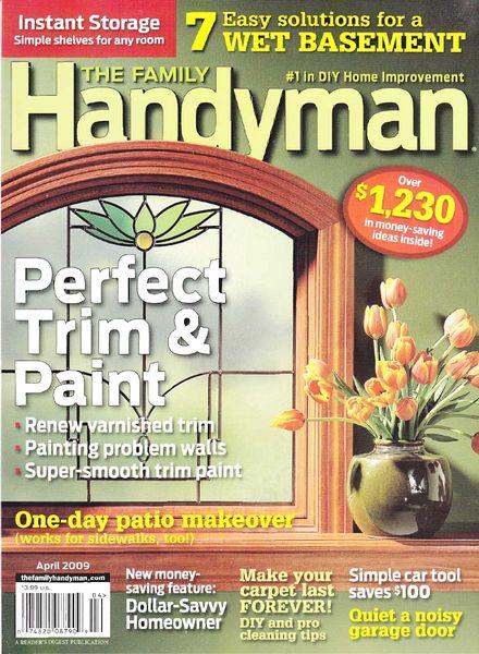 Download the family handyman april 2009 pdf magazine for The family handyman pdf