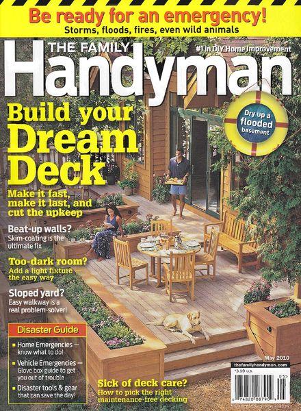 Download The Family Handyman May 2010 Pdf Magazine