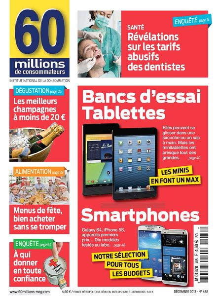 download 60 millions de consommateurs n 488 decembre 2013 pdf magazine. Black Bedroom Furniture Sets. Home Design Ideas