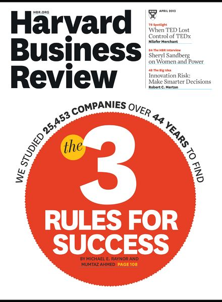 hbr when your core business is