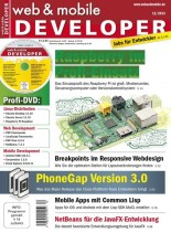web & mobile DEVELOPER 12, 2013