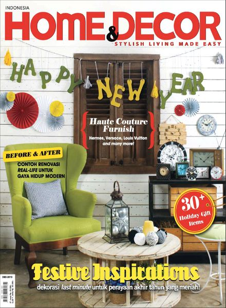 home decor magazines free download home amp decor indonesia magazine december 2013 12334