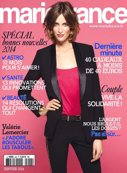 download marie france n 223 janvier 2014 pdf magazine. Black Bedroom Furniture Sets. Home Design Ideas