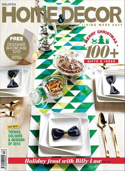 Download home decor malaysia magazine december 2013 pdf magazine - Magazine for home decor style ...
