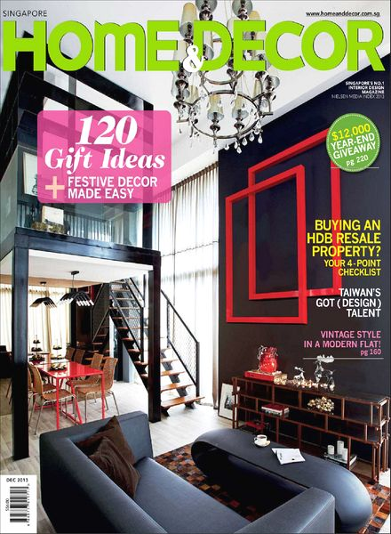 home and decor singapore magazine home amp decor singapore magazine december 2013 12196