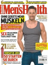 Men's Health Germany - Januar 2014