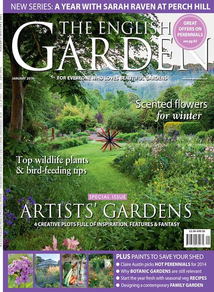 Download The English Garden Magazine January 2014 PDF Magazine