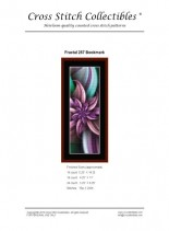 Cross Stitch Collectibles (Fractal Bookmark) 257