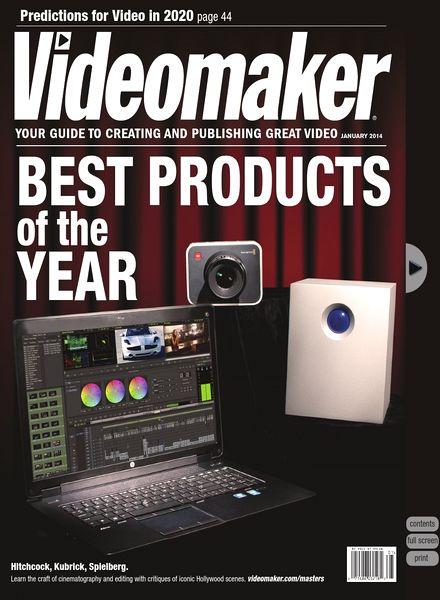 Videomaker - January 2014