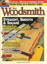 Woodsmith Issue 178, Aug_Sep 2008 - Straight Smooth and Square s