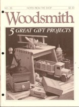 WoodSmith Issue 35, Sept-Oct 1984 - 5 Great Gift Projects