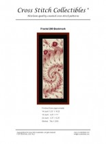 Cross Stitch Collectibles (Fractal Bookmark) 280