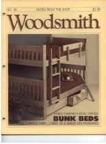 WoodSmith Issue 38, Mar-Apr 1985 - Bunk Beds