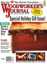 Woodworker's Journal - Vol 34, Issue 6 - 2010-12