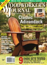 Woodworker's Journal - Vol 35, Issue 4 - August 2011