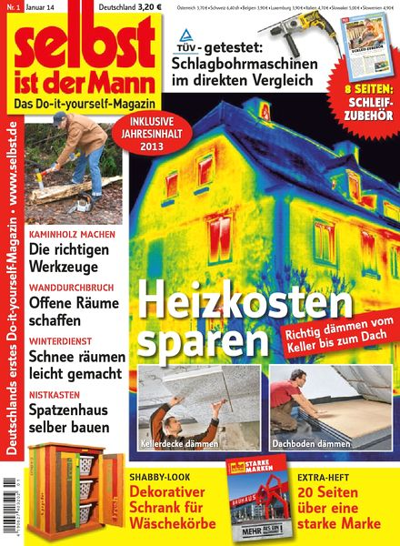 download selbst ist der mann januar 01 2014 pdf magazine. Black Bedroom Furniture Sets. Home Design Ideas
