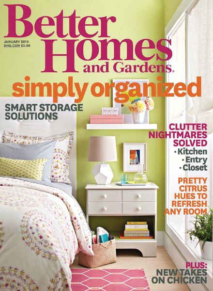 Download Better Homes And Gardens USA January 2014 PDF