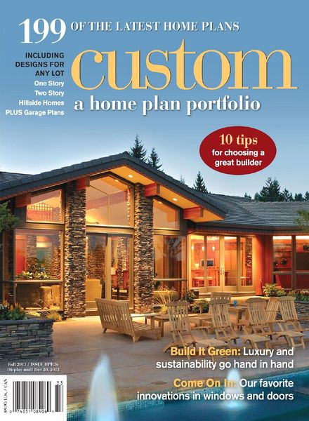 Custom A Home Plan Portfolio Issue HPR36 Fall 2013 PDF Magazine