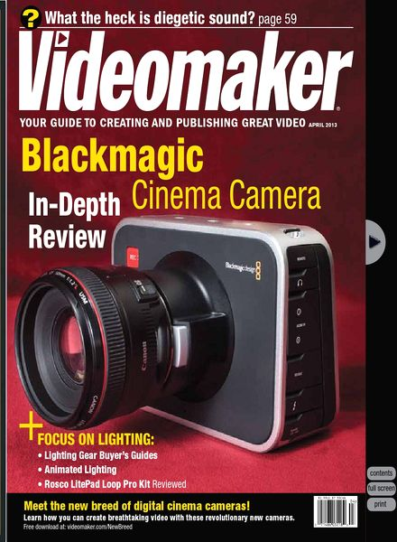 Videomaker - April 2013