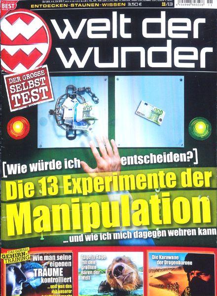 Welt Der Wunder Magazin