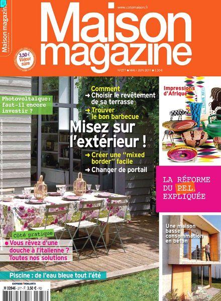 Download maison magazine n 277 2011 05 06 pdf magazine for Magazine maison