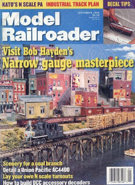 Model Railroader - 1998-09