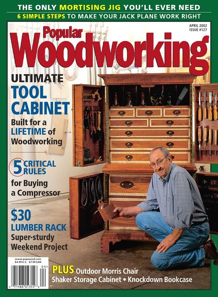 Download Popular Woodworking – 127, April 2002 - PDF Magazine