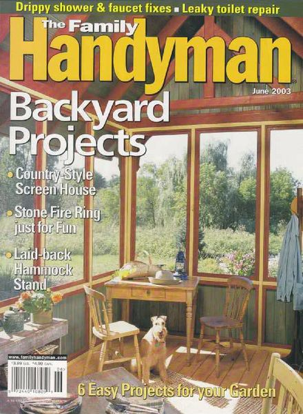 Download the family handyman 439 2003 06 pdf magazine for The family handyman pdf