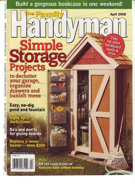 Download The Family Handyman 487 2008 04 Pdf Magazine