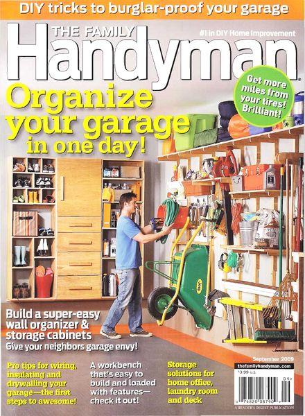 Download The Family Handyman September 2009 Pdf Magazine