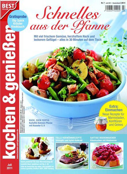 download kochen und geniessen magazin juli 2011 pdf magazine. Black Bedroom Furniture Sets. Home Design Ideas