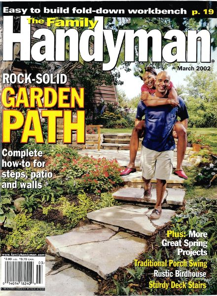 Download the family handyman 426 2002 03 pdf magazine for The family handyman pdf