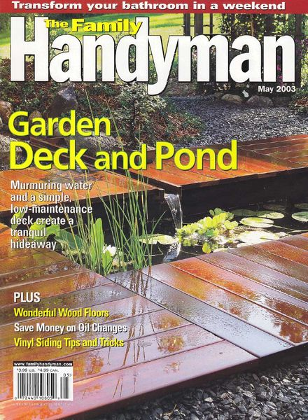 Download the family handyman 438 2003 05 pdf magazine for The family handyman pdf