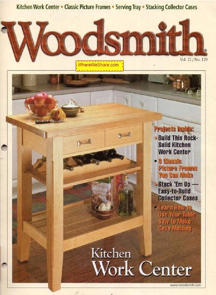 Woodsmith Magazine Issues 199 204 2012