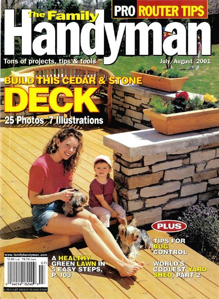 Download the family handyman 420 2001 08 pdf magazine for The family handyman pdf