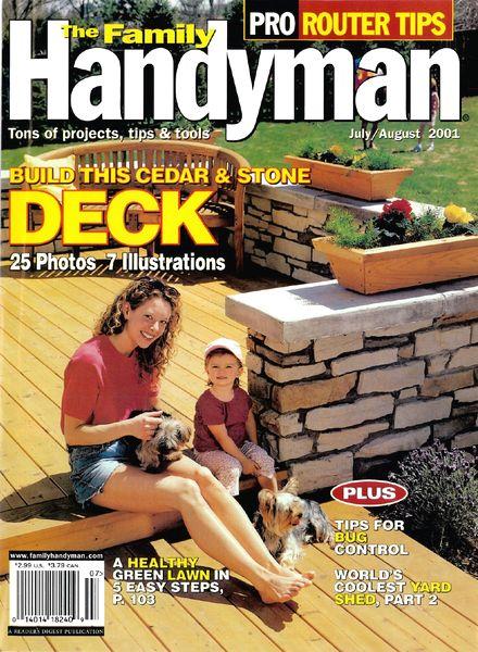 Download The Family Handyman 420 2001 08 Pdf Magazine